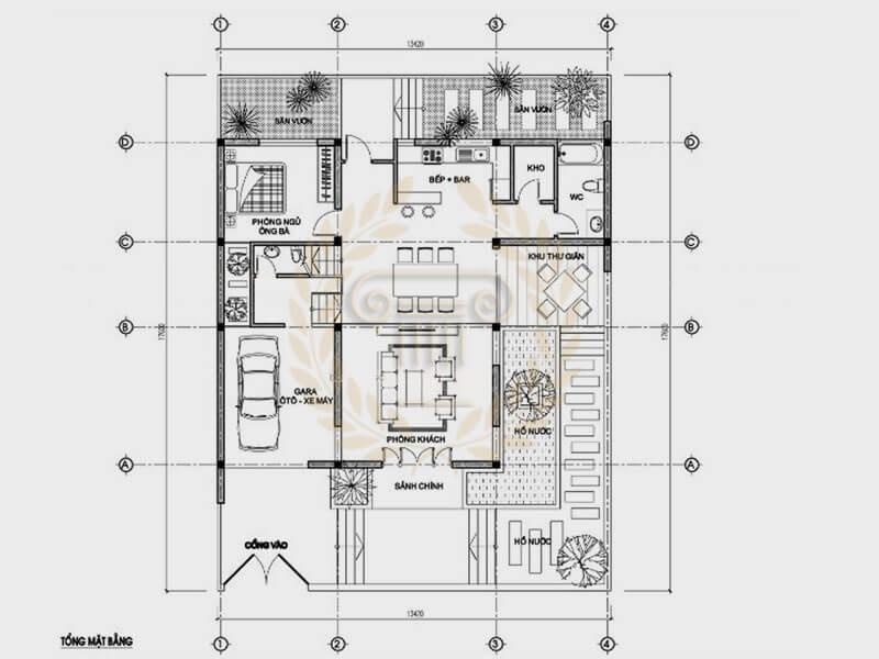 Biệt thự 3 tầng 2 mặt tiền sang trọng bậc nhất