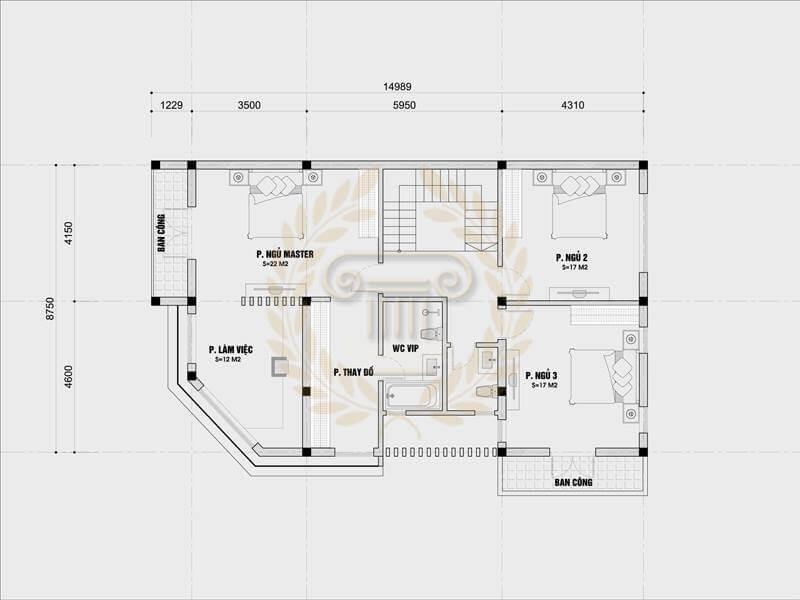 Mẫu Biệt Thự ba tầng Độc Nhất Hiện Nay