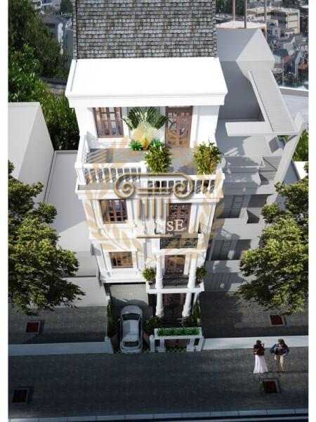 Mẫu thiết kế nhà phố mới lạ L16022