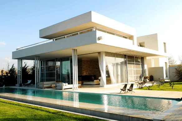 Những mẫu thiết kế nhà nửa biệt thự đầy ấn tượng