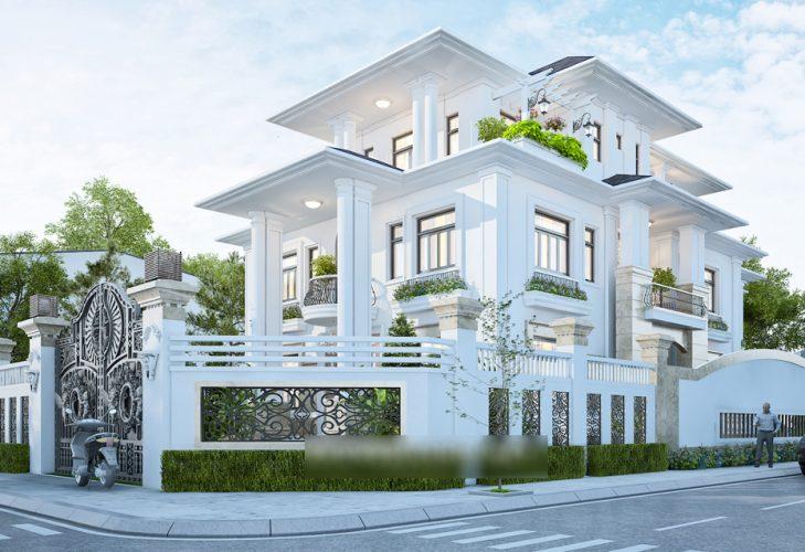 mẫu biệt thự 3 tầng siêu đẹp