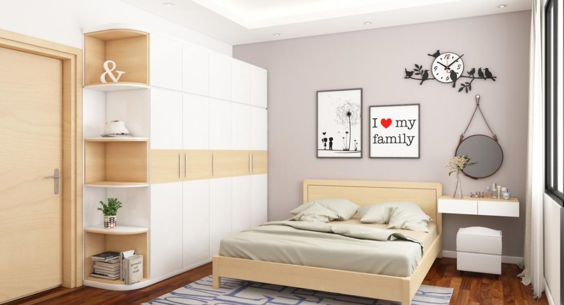 Thiết kế nội thất phòng ngủ 15m2 độc đáo nhất