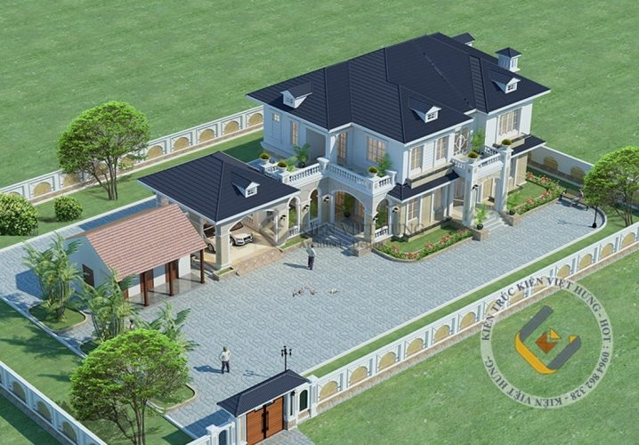 biệt thự ở Thái Nguyên