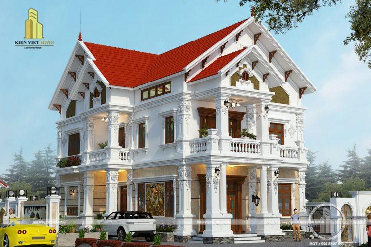 thiết kế biệt thự Ninh Bình siêu cuốn hút
