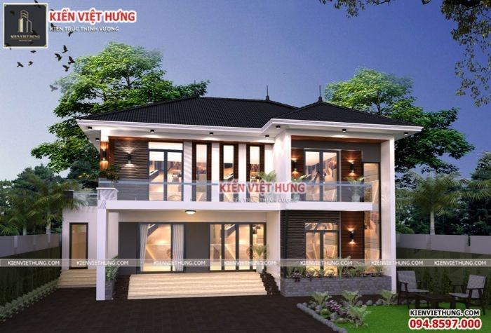 Ngôi nhà với vẻ sang trọng, hiện đại và tinh tế