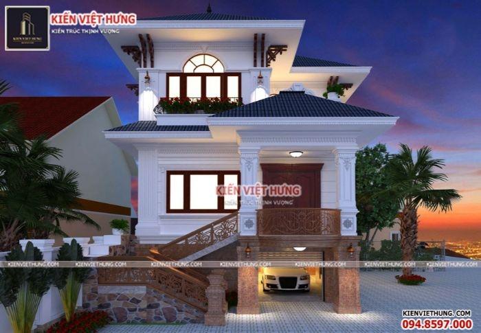Hình ảnh trực quan của ngôi nhà của vợ chồng anh Mến