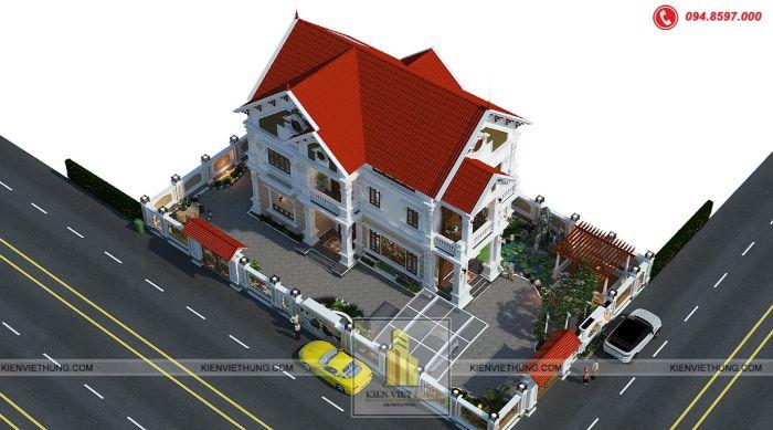 thiết kế biệt thự ở Ninh Bình hút hồn người xem