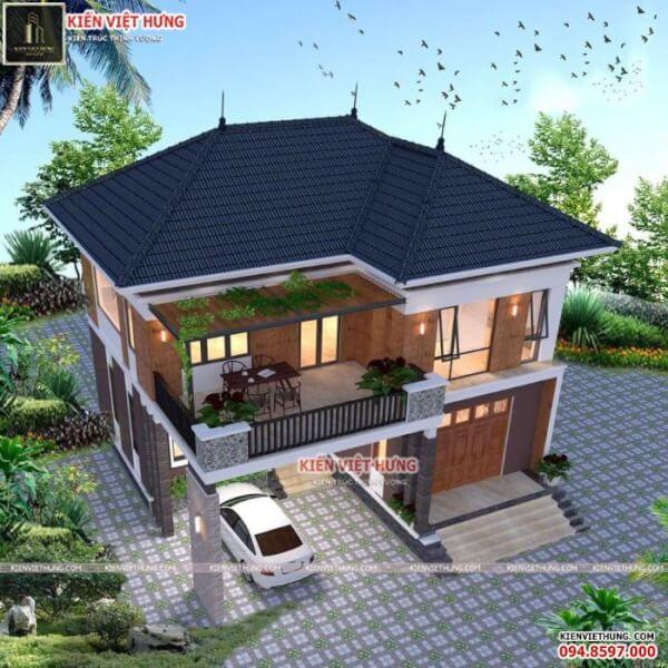 thiết kế biệt thự ở Quảng Ninh vô cùng bắt mắt
