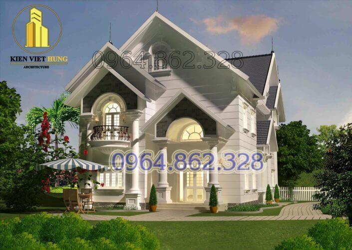 thiết kế biệt thự ở Quảng Ninh đẹp lộng lẫy