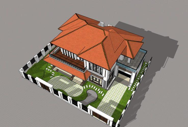 thiết kế biệt thự ở Thanh Hóa với thiết kế siêu ấn tượng