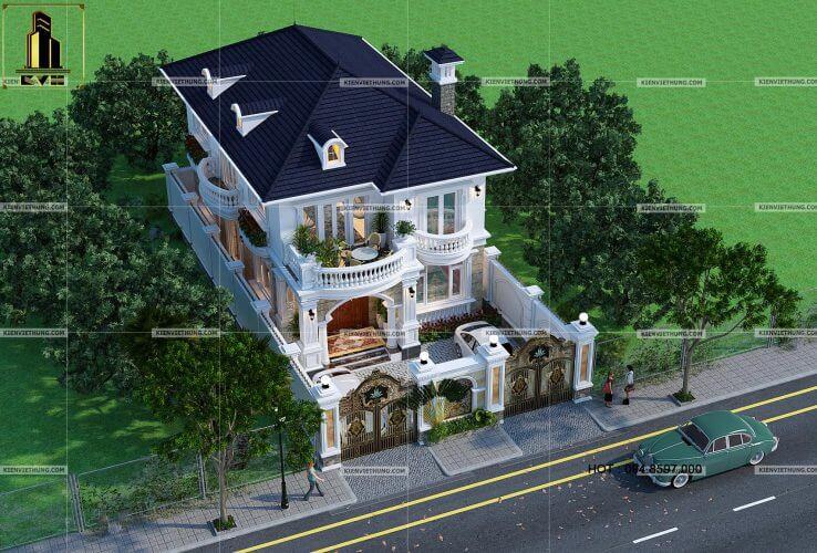 thiết kế biệt thự ở Hà Nội