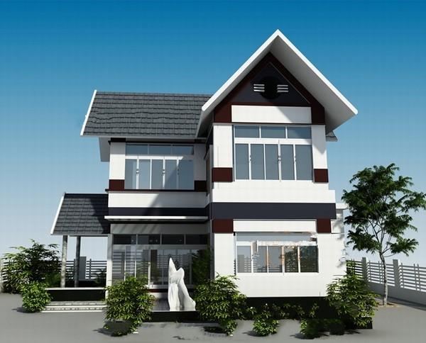 Giới thiệu những mẫu nhà biệt thự 2 tầng hiện đại đơn giản tinh tế