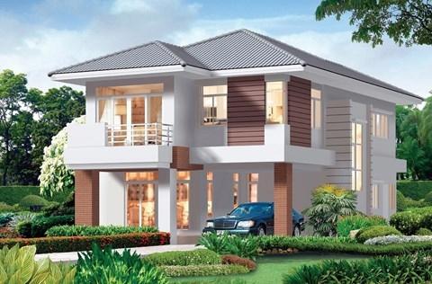 Những kiểu thiết kế biệt thự 2 tầng đẹp