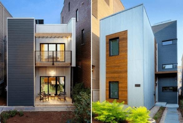 Mẫu thiết kế nhà phố đẹp mỹ mãn L16023