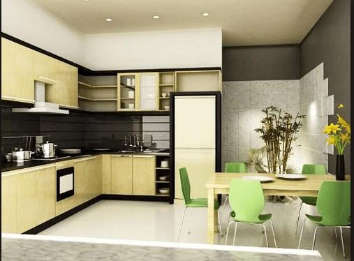 3 nguyên tắc bài trí phòng bếp