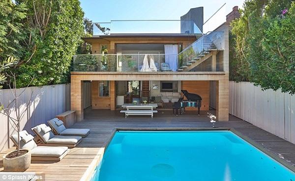 Thiết kế biệt thự có bể bơi tuyệt đẹp