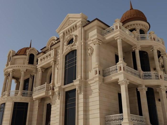 12 mẫu thiết kế biệt thự cổ điển 2 tầng đẹp hút mắt - Ảnh 9