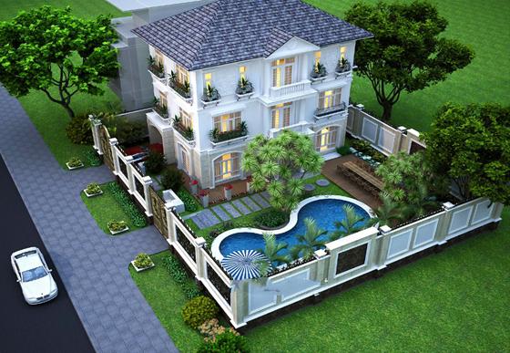 thiết kế biệt thự ở Phú Yên