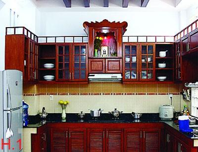 phong thủy cho phòng bếp