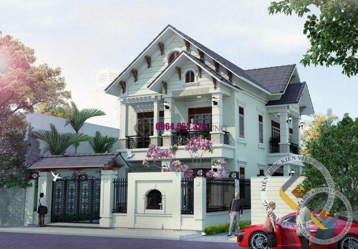 thiết kế biệt thự ở Đà Nẵng sang trọng