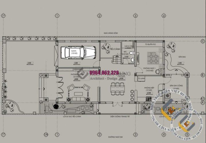 thiết kế biệt thự ở Đà Nẵng lộng lẫy