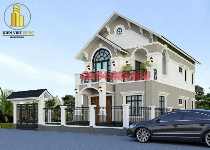 thiết kế biệt thự ở Điện Biên rất cuốn hút