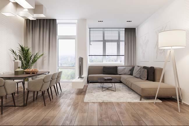 Mẫu phòng khách đẹp hiện đại 2017