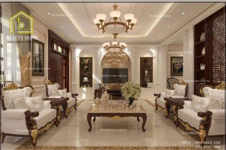 nội thất phòng khách chung cư chất