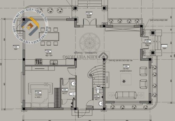 thiết kế biệt thự ở Ninh Bình lộng lẫy