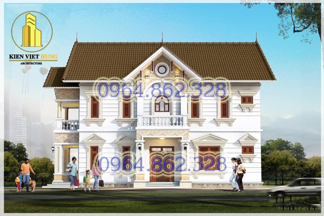 thiết kế biệt thự ở Hà Nội lộng lẫy