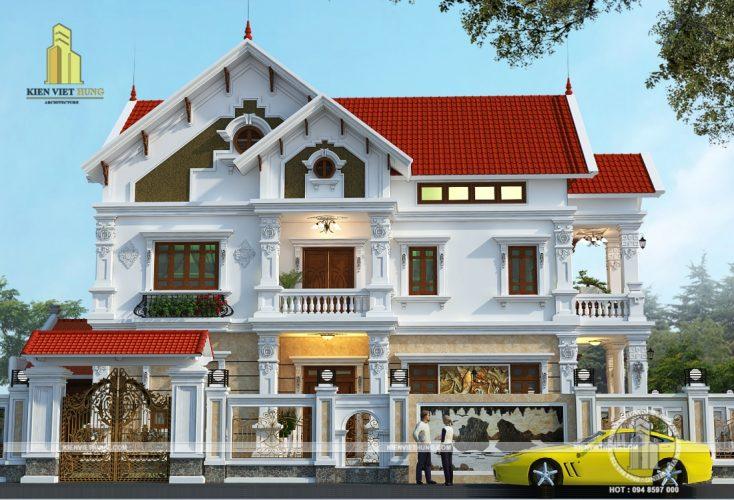 thiết kế biệt thự Ninh Bình đẹp lộng lẫy