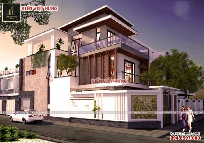 thiết kế biệt thự ở Vĩnh Phúc