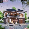 Nhà hai tầng đẹp đem đến cảm giác ấm cúng cho người nhìn