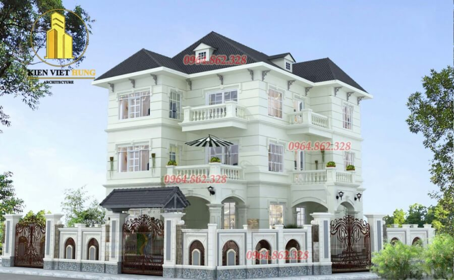 thiết kế biệt thự ở Yên Bái đẹp