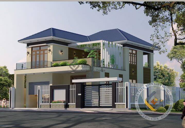 thiết kế biệt thự ở Quảng Ninh hiện đại