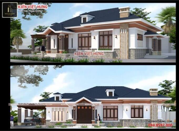 thiết kế biệt thự ở Hà Tĩnh