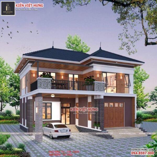 thiết kế biệt thự ở Quảng Ninh phong cách hiện đại