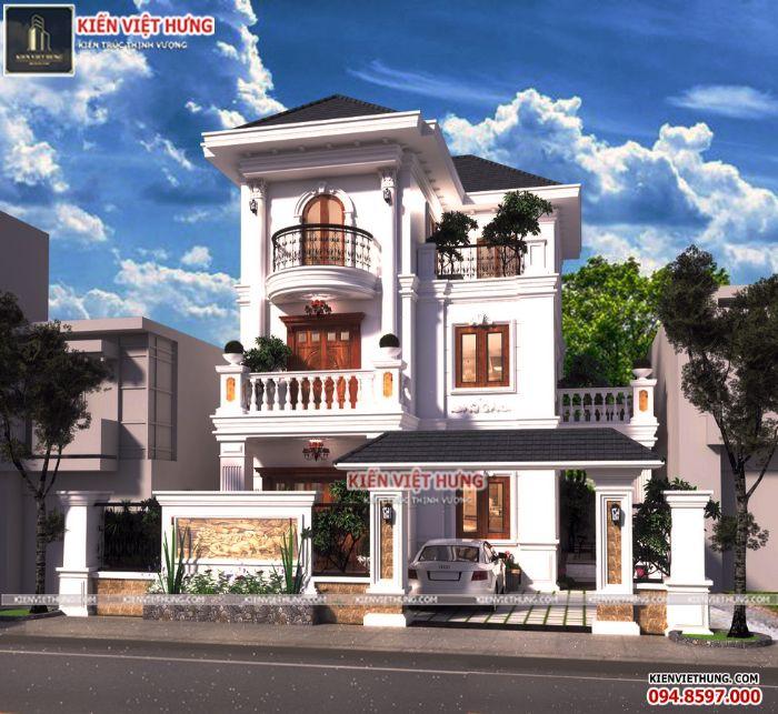 thiết kế biệt thự ở Hà Tĩnh siêu đẹp