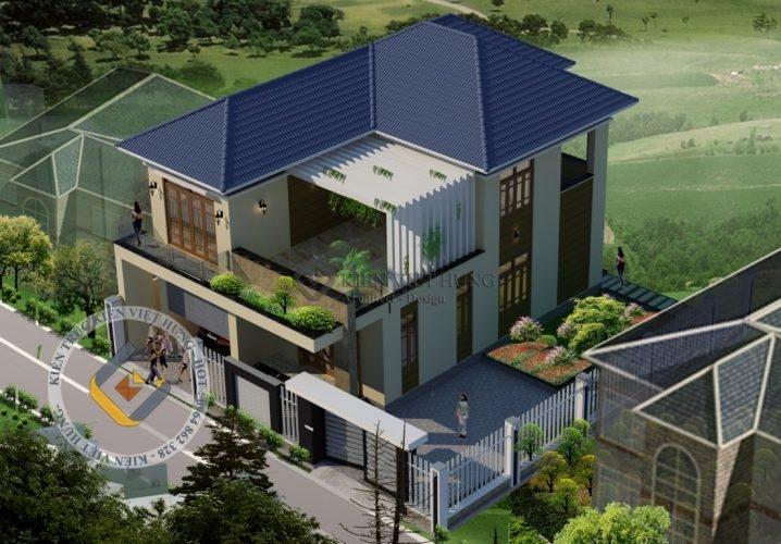 thiết kế biệt thự ở Hưng Yên đẳng cấp