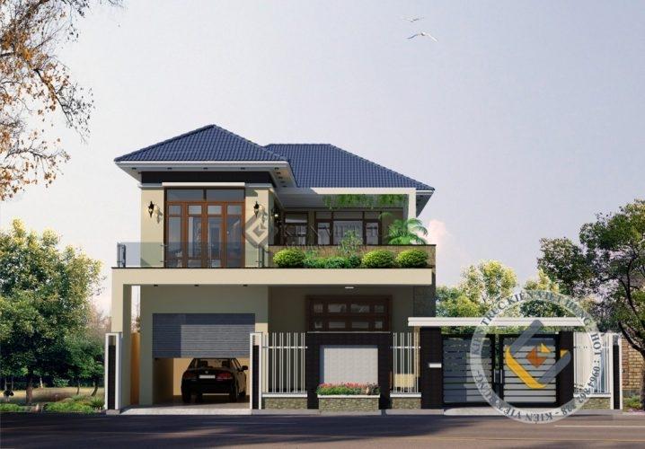 thiết kế biệt thự ở Hưng Yên sang trọng