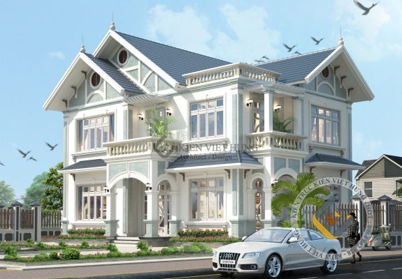 thiết kế biệt thự ở Ninh Bình bắt mắt