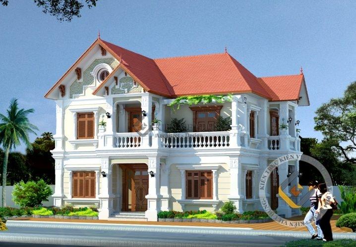thiết kế biệt thự ở Sơn La đẹp cuốn hút