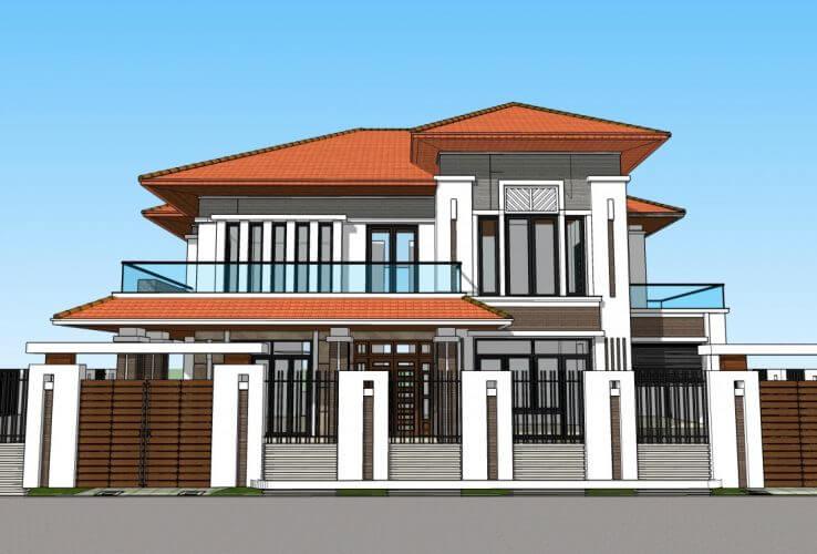 thiết kế biệt thự ở Hà Nam đẹp