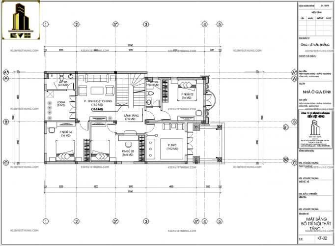 thiết kế biệt thự 2 tầng kiểu Pháp xa hoa và lộng lẫy