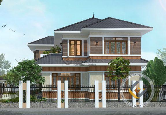 thiết kế biệt thự ở Hà Nam đẹp lộng lẫy
