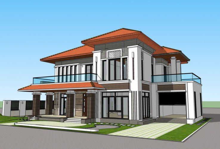 thiết kế biệt thự ở Thanh Hóa đẹp