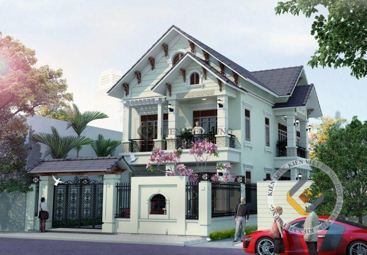 thiết kế biệt thự ở Thanh Hóa sang trọng