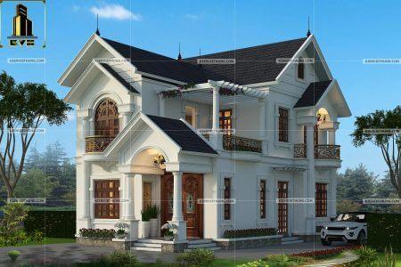 thiết kế biệt thự ở Hưng Yên