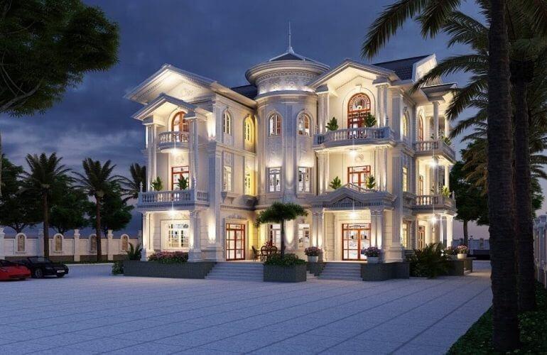 thiết kế khách sạn 1